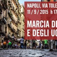 Marcia a piedi scalzi per i migranti