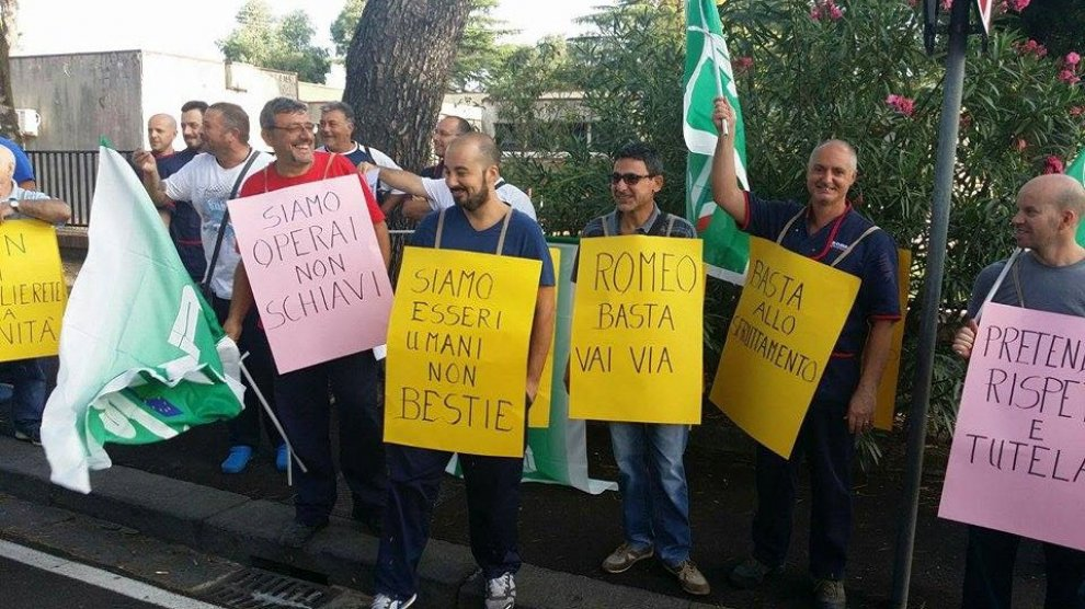 """Cardarelli, emergenza pulizie. Lavoratori in sciopero: """"Laviamo 35 stanze con due stracci"""""""