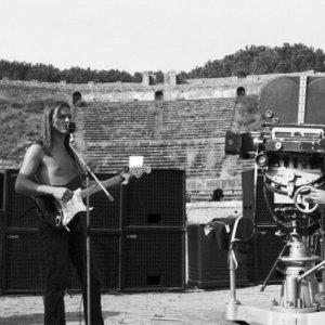 Adrian Maben a Pompei per un incontro sul celebre film concerto dei Pink Floyd