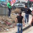 Chiaiano, la stazione del metrò tra erbacce e rifiuti