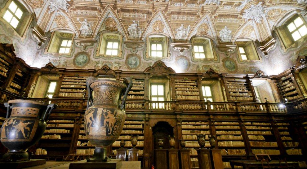 http://www.vienianapoli.com/2016/04/la-biblioteca-oratoriana-dei-girolamini.html Completato