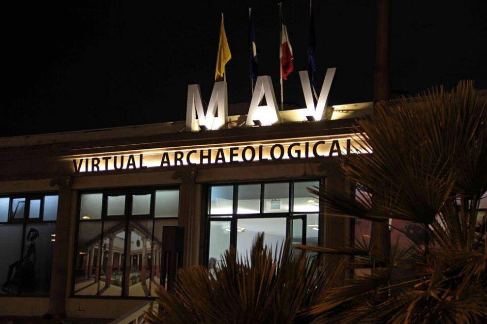 museo archeologico napoli visite virtuale