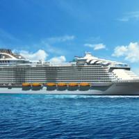 Nel porto di Napoli la nave più grande del mondo