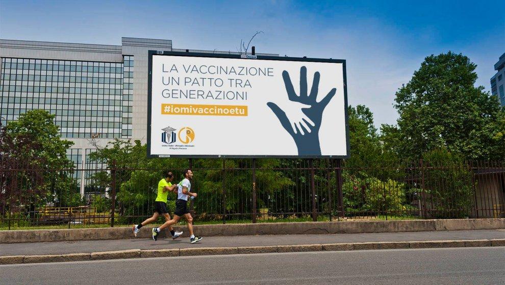 Fobia vaccinazioni, a Napoli cento manifesti per vincere le paure