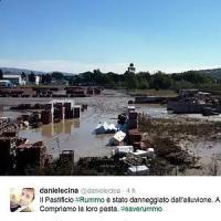 Benevento, pastificio Rummo in ginocchio dopo l'alluvione. Solidarietà sui social: #SaveRummo