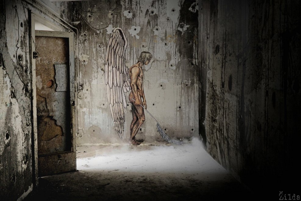 Il mito nella street art di Zilda