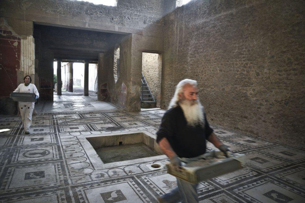 Il Natale di Pompei, Renzi inaugura sei edifici restaurati. Ecco le foto in anteprima