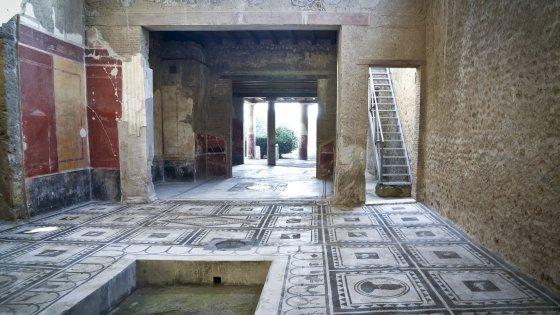 Pompei si inaugurano sei edifici ora l 39 italia forte for Tipi di case in italia