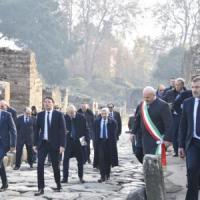 Renzi a Pompei: