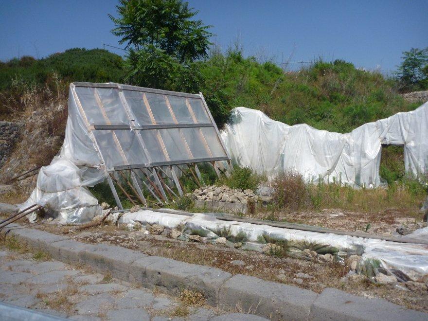 Via al restauro della Schola armaturarum di Pompei