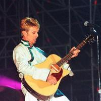 David Bowie a Bagnoli nel 1997,
