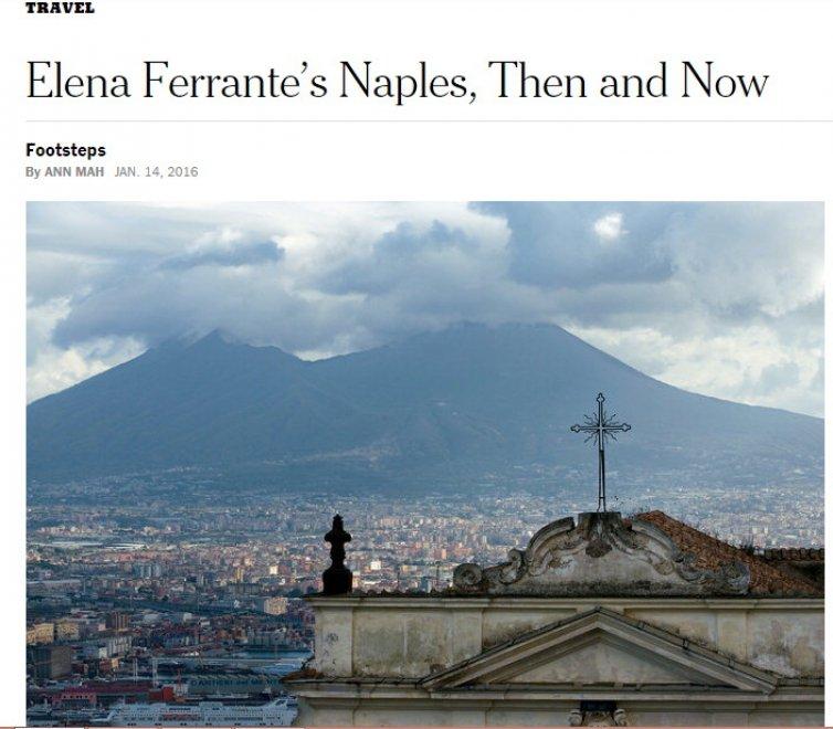 Sulle tracce di Elena Ferrante, il New York Times celebra Napoli