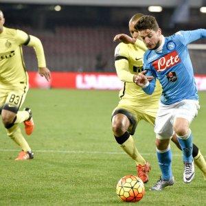 Napoli fuori dalla Coppa Italia: 0 a 2 con l'Inter