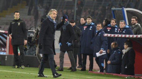 """La furia Mancini accusa Sarri """"Non può fare calcio"""""""