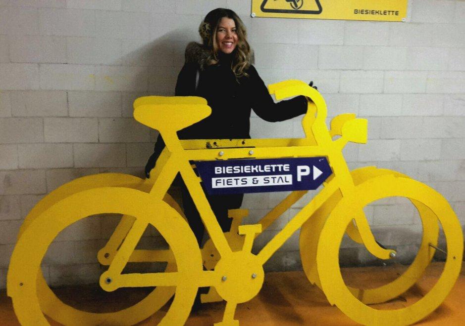 """Delegazione napoletana in Olanda per imparare la """"mobilità dolce """" a due ruote"""