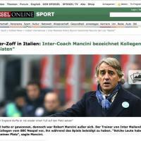 La lite tra Sarri e Mancini fa il giro del mondo. Le prime pagine dei quotidiani stranieri