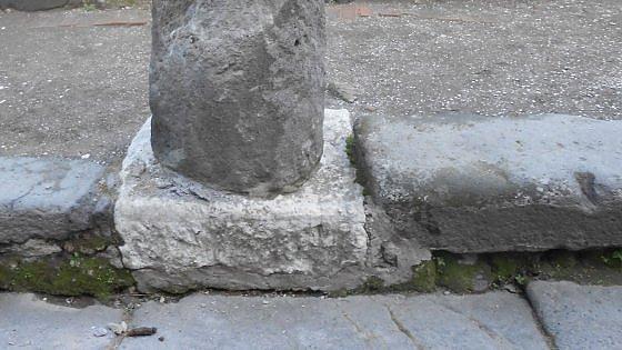 Pompei: pericolo di crollo per una colonna, chiuso l'accesso di porta Marina
