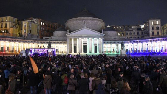 Napoli in marcia per le unioni civili
