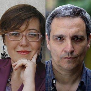 Antonella Cilento-Maurizio de Giovanni, a Napoli scintille tra scrittori