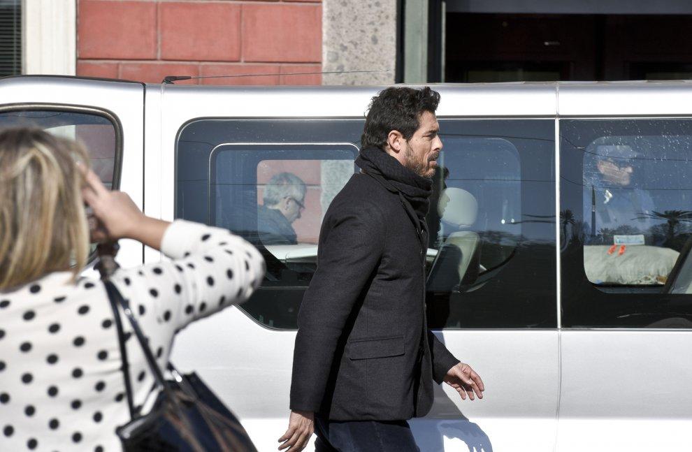 """Alessandro Gassmann nei panni dell'ispettore Lojacono gira a Napoli """"I bastardi di Pizzofalcone"""""""