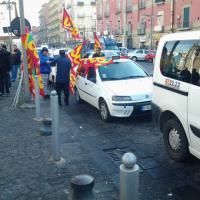 Tassisti Usb in sciopero a Napoli