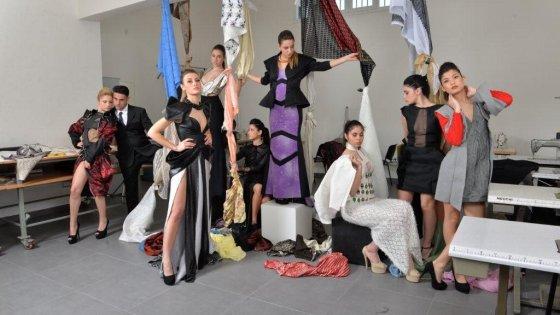 L 39 accademia della moda porta a napoli tre big della moda e for Accademie di moda milano