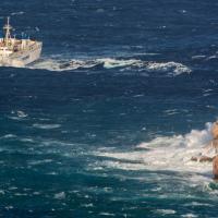 Mare grosso a Capri: il viaggio
