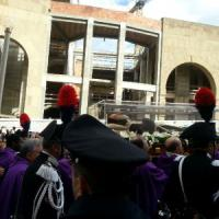 Il viaggio di Padre Pio da Pietrelcina a San Giovanni Rotondo, tra polizia in assetto di...