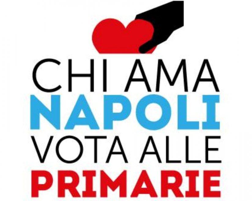 """Primarie, ecco logo e spot: """"Chi ama Napoli vota..."""""""