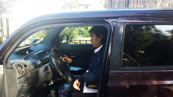 Capri il sogno di christian al volante in carrozzella for Joystick per sedia a rotelle