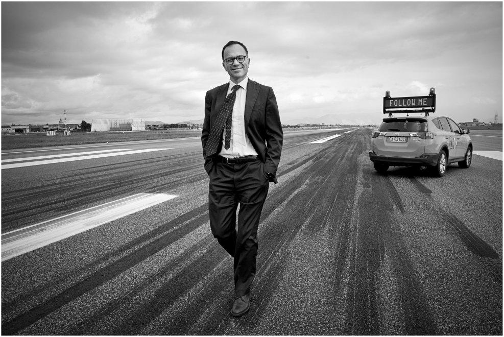 Armando Brunini, il manager che cambia l'aeroporto