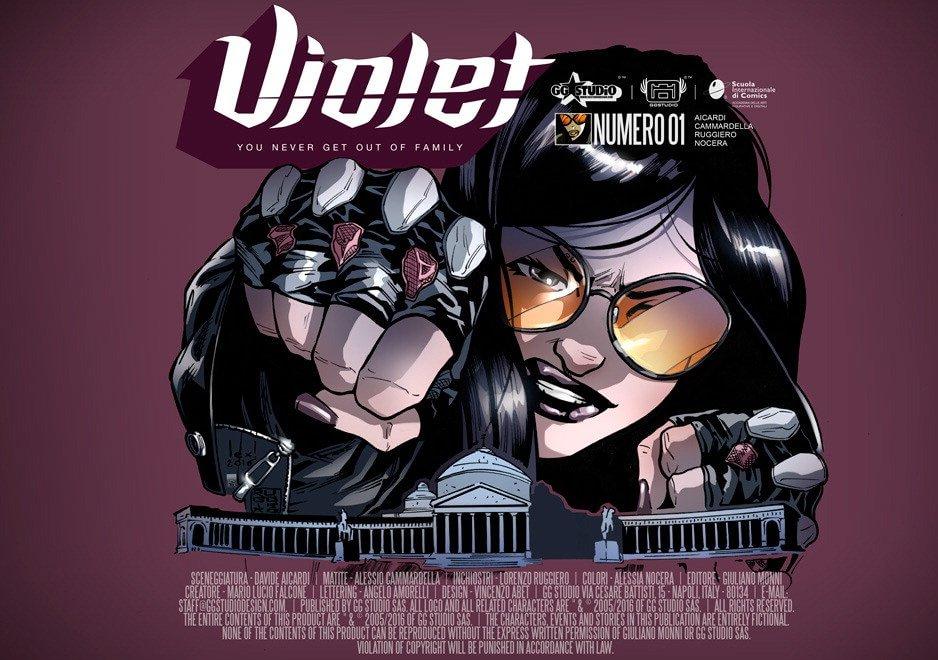 Violet episodio 1/ Genesi di una eroina anticamorra
