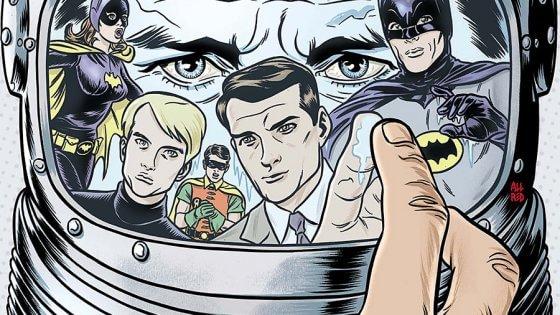 Batman  e lo 007 dell'Uncle: Pasquale Qualano veste gli eroi di vintage