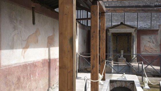 Pompei, restaurate cinque domus. E torna la Venere nella conchiglia