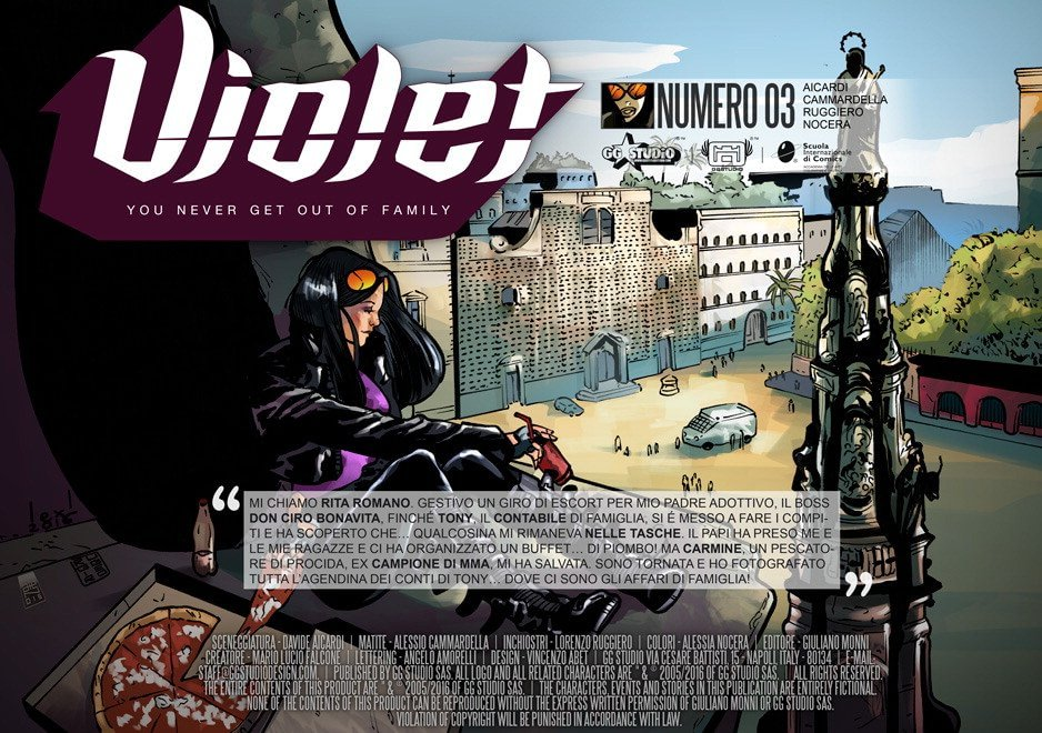 Violet episodio 3 / Napoli è mille colori