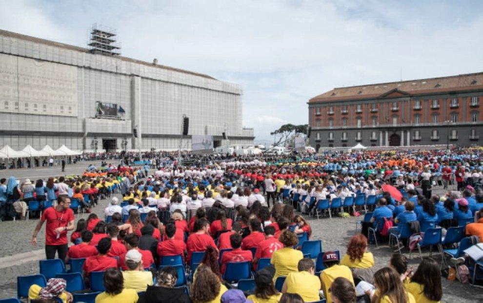 """Plebiscito, 13mila coristi per """"La piazza incantata"""""""