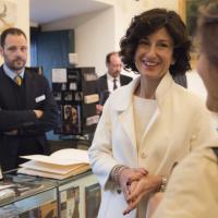La moglie di Renzi visita la Cappella Sansevero