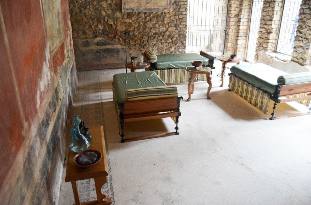 Pompei , ecco l'Antiquarium e Villa Imperiale