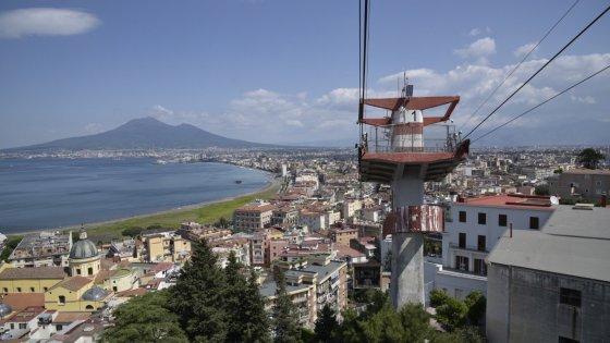 """Riapre la Funivia del Faito, De Luca """"Un'opera simbolica per il turismo"""""""