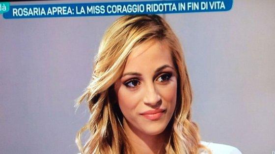Investe l'ex fidanzato, denunciata per stalking Rosaria Aprea, la miss simbolo della lotta alla violenza contro le donne