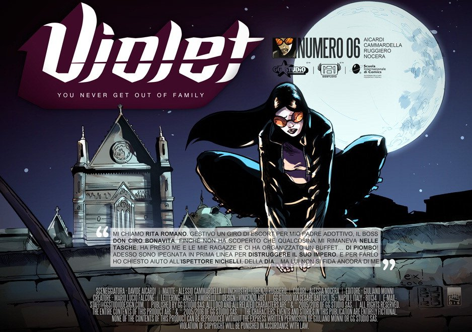 Violet episodio 6/ Era mio padre