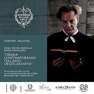 Enzo Moscato, tournée in Brasile. Spettacoli e seminari