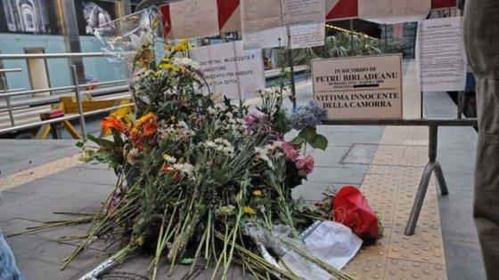 La stazione della cumana di Montesanto intitolata a Petru Birladeanu, vittima innocente della camorra