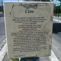Tor di Quinto, una lapide per Ciro Esposito. Il gesto nobile di un cittadino