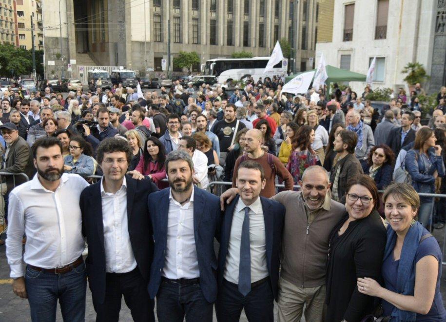 Comunali Napoli, 2016: Matteo Brambilla (M5S) chiude la campagna elettorale