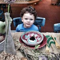 Ulisse, il primo bimbo svezzato barattando prodotti biologici