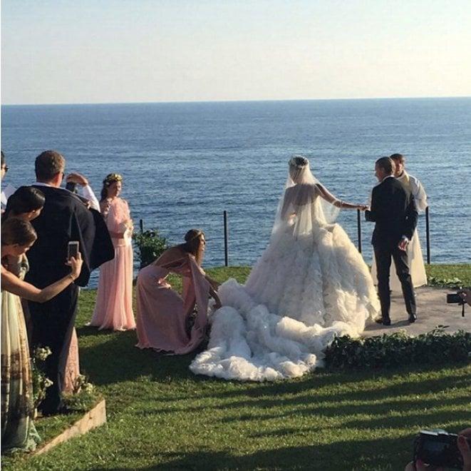 Magia e incanto, a Capri il super matrimonio blindato di Oscar e Giovanna