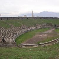 Pompei, l'Anfiteatro chiude per