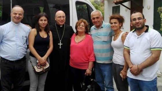 Perseguitata in Siria perché cristiana, la famiglia Kababji accolta a Ischia