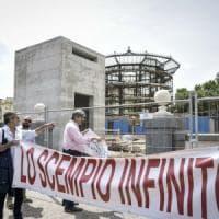 """Ascensore in Villa Comunale, l'architetto Podrecca: """"Protesta impropria"""